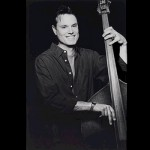 Barry Bales playing upright bass