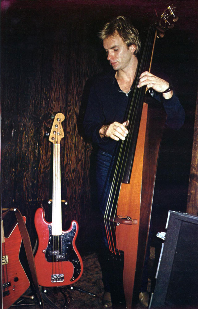 Sting Fretless Bass : sting s 8 string hamer explorer fretless bass the police ~ Russianpoet.info Haus und Dekorationen